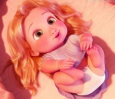 Tangled - Baby Rapunzel