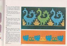 DMCの世界の刺繍図案集  色鮮やかな中央アジアのパターン central asian embroideries - 旅する本屋 古書玉椿 北欧など海外の手芸本・絵本・フォークロア雑貨