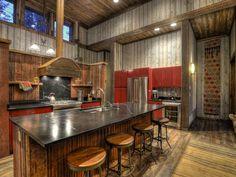 Alles, was es braucht, um schönes Essen für die ganze Gruppe zu kochen! | Hill City, South Dakota, USA, Objekt-Nr. 581117vb