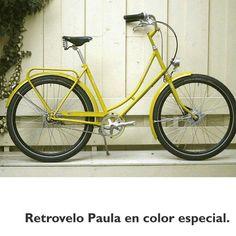 #Retrovelo Paula en color especial. #avantumbikes #biciclasica