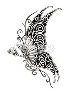 1000 Ideas About Skull Butterfly Tattoo On Pinterest Tattoos Tattoos And