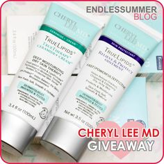Endlessummer Blog: Cheryl Lee MD Cracked Hands & Feet Kit Giveaway!