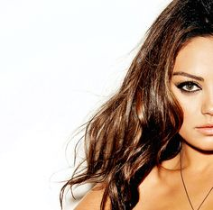 love the eye makeup. mila kunis
