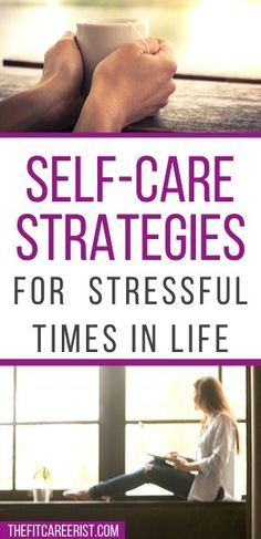 Whether you're dealing with financial stress, work stress, or just a difficult time in your life, these self-care strategies can help you cope and make time for yourself. personal growth, personal development, self care, self love. #bestself #personalgrowth #selfcare