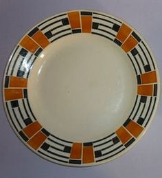 Badonviller - OPERA. French tableware from the 1890-1920