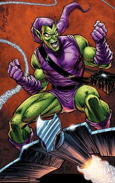 Green Goblin - Comic Book Artwork : Photo ... °°