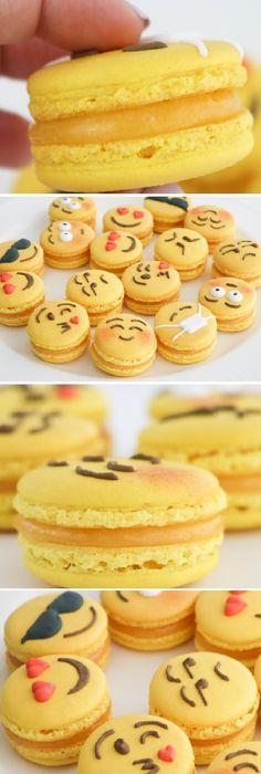 Estos MACARONS de EMOJIS son riquísimos y muy fáciles de hacer con lo mejor Sabor Limón del mundo! #macarons #emojis #limón #galletas #crema #tips #pan #panfrances #panettone #panes #pantone #pan #receta #recipe #casero #torta #tartas #pastel #nestlecocina #bizcocho #bizcochuelo #tasty #cocina #chocolate Si te gusta dinos HOLA y dale a Me Gusta MIREN …