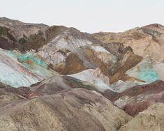 "thisispaper: "" Marc Alcock explores the landscapes that resemble alien worlds """