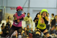 Don't look now but there is a roller sakting Ninja behind you!!