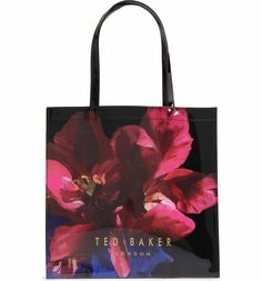 cc98017803782 Main Image - Ted Baker London Large Icon - Impressionist Bloom Tote London  Outfit
