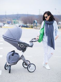 Featured on BITTERSWEET COLOURS BLOG: Stokke Xplory Stroller in chic Black Melange fabric