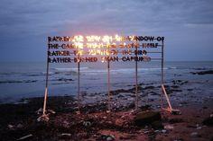 Robert Montgomery, poésie durable » Web Développement Durable #globalwarming #climatechange #COP21 #Paris #united– More at http://www.GlobeTransformer.org