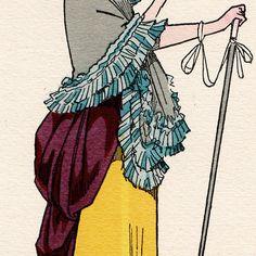 17th century clothing | Antique prints | Fashion Plate - French Mode - 17th Century - 1685 17th Century Clothing, 17th Century Fashion, Clothing And Textile, Antique Clothing, Rococo, Baroque, Mother Goose, Antique Prints, Fashion Plates