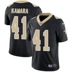 Nike Saints  41 Alvin Kamara Black Team Color Men s Stitched NFL Vapor  Untouchable Limited Jersey 322f943d4
