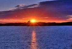 North Light Sunset, Block Island
