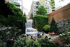 Greenacre Park -  51st St. between 2nd and 3rd Ave