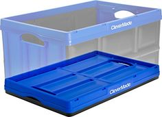 CleverCrates Collapsible Storage Bin/Container by CleverMade