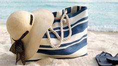 Bolsas de playa, sombreros para el verano 2014
