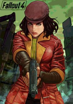 Safebooru is a anime and manga picture search engine, images are being updated hourly. Fallout Art, Fallout 4 Cait, Fallout 4 Piper, Fallout Posters, Fallout New Vegas, Fallout Funny, Fallout Cosplay, Nuclear Winter, Gaming Wall Art