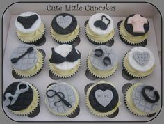 50 Shades of Grey cupcakes!