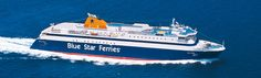Blue Star Ferries announced 2015 –2016 winter ferry schedules to the Cyclades Aegean Islands