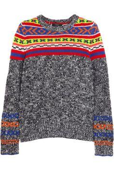 J Crew Fair Isle Sweater MEDIUM