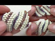 Como Terminar la Pulsera con Puntada Cellini - YouTube