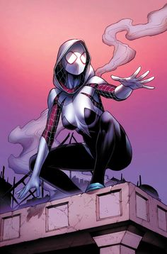 Spider-Gwen by Dale Keown, colours by Jason Keith *
