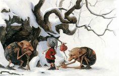 Winter Gnomes - JB Monge