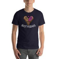 Peanut Butter and Jelly Best Friends T-Shirt