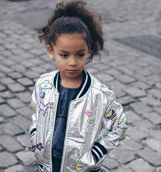 Kid's details on jacket