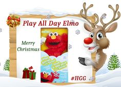 Play All Day Elmo Over 150 responses & 8 games Holiday Gift Guide, Holiday Gifts, Elmo, Games To Play, Giveaways, Over The Years, Merry Christmas, Xmas Gifts, Merry Little Christmas