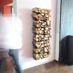Leñero de pared Tree