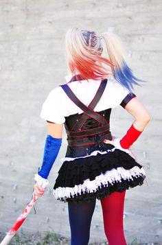 Harley Quinn Arkham Knight Costume DIY Harness Tutorial