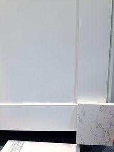 Sugarbrush Quartz with Shaker Cabinet