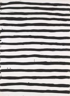 stripes made by hand, none alike, each with their own individual personality