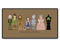 The Wizard of Oz Cross Stitch PDF Pattern