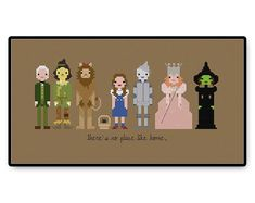 The Wizard of Oz  Cross Stitch PDF Pattern by HugSandwich on Etsy