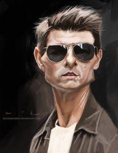 Tom Cruise by DevonneAmos on deviantART
