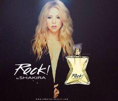 """Aos poucos estão sendo divulgadas novas informações sobre o novo perfume da diva latina, """"Rock! By Shakira"""", com lançamento previsto para o começo de setembro! Vamos aguardar… Update: Confira o comercial abaixo: Comente pelo Facebook #Shakira"""