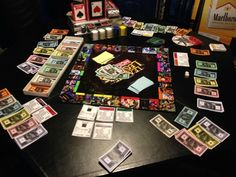 League Of Legends Monopoly: Monopoleague Custom by TerminisCanvas