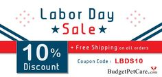 Labor indeed that puts the difference on everything. Happy Labor Day ! #LaborDaySale Big Deals @ BudgetPetCare