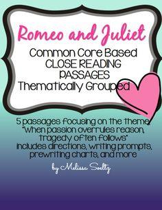 Romeo and juliet passion vs reason essay