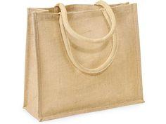 """15-1/2x6x13-3/4"""" Burlap Tote Bags  6 for $20.50  Nashville Wraps"""