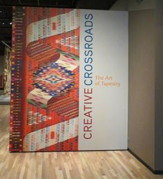 Rebecca Mezoff, Tapestry Artist: Creative Crossroads: The Art of Tapestry at the Denver Art Museum