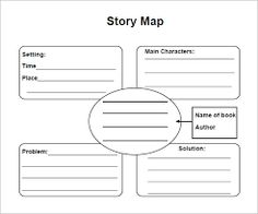 Story map template graphic organizers pinterest story map image result for story map template maxwellsz