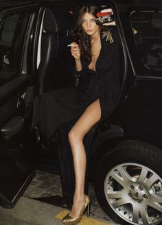 Daria Werbowy | Vogue Paris | Terry Richardson | Mai 2007