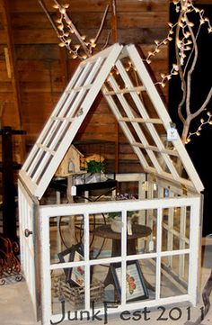 Another window frame idea