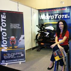 Jennifer at the American International Motorcycle Expo in Orlando Convention Centre, Orlando Florida, Transportation, Motorcycle, Bike, American, Gallery, Ideas, Bicycle