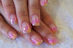 colour acrylic blend by AndreaStacey - Nail Art Gallery nailartgallery.nailsmag.com by Nails Magazine www.nailsmag.com #nailart